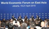 Phó Thủ tướng Nguyễn Xuân Phúc phát biểu tại Diễn đàn WEF Đông Á