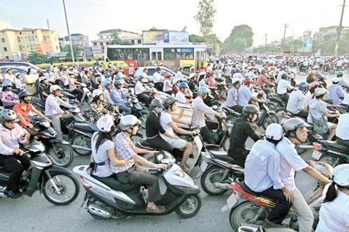 TP.HCM: Mức thu phí đường bộ cao nhất đối với xe môtô là 150.000 đồng/xe/năm
