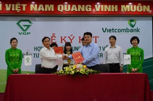 Vietcombank Hải Phòng tài trợ 700 tỷ đồng xây Cảng Container VIP Green Port