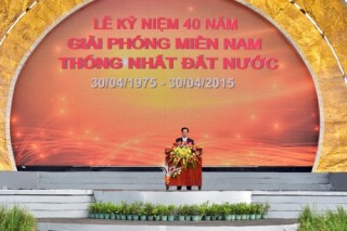 Hậu Giang kỷ niệm 40 năm ngày thống nhất đất nước