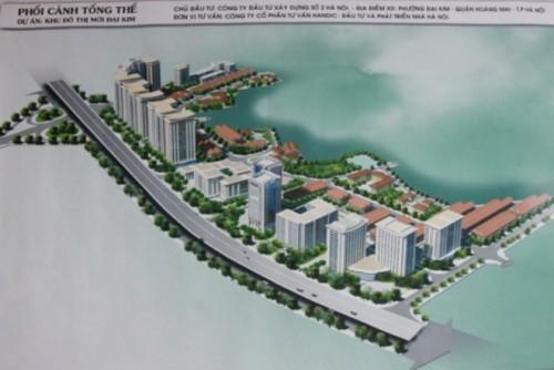 Dự án Khu đô thị mới Đại Kim 'tái xuất'