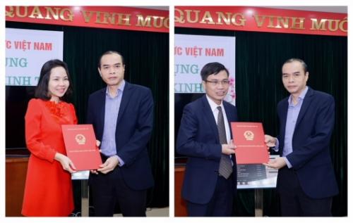 Vụ Tín dụng các ngành kinh tế (NHNN) có 2 Phó Vụ trưởng mới