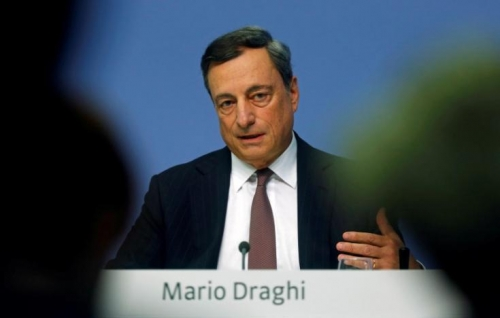 """Euro giảm mạnh sau khi Chủ tịch ECB nói """"kiên nhẫn"""" với nới lỏng"""