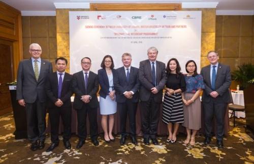 BUV hỗ trợ sinh viên Đại học London tới học tập, làm việc tại Việt Nam