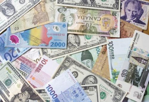 Tỷ giá các cặp đồng tiền chủ chốt ngày 23/4/2018