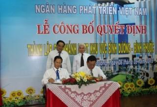 VDB: Thành lập chi nhánh khu vực Bình Dương - Bình Phước