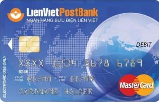 LienVietPostbank sẽ có thêm 1 loại thẻ ghi nợ nội địa
