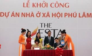 VietinBank Sông Nhuệ tài trợ vay vốn gói 30.000 tỷ đồng tại dự án The Vesta