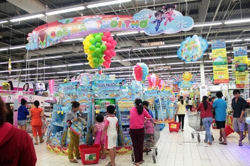 Big C khuyến mãi 'sốc' 1.500 mặt hàng nhân 'Ngày hội trẻ thơ'