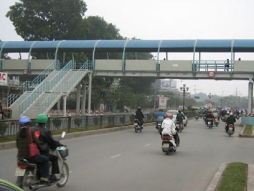 Hà Nội sắp xây thêm 2 cầu vượt cho người đi bộ