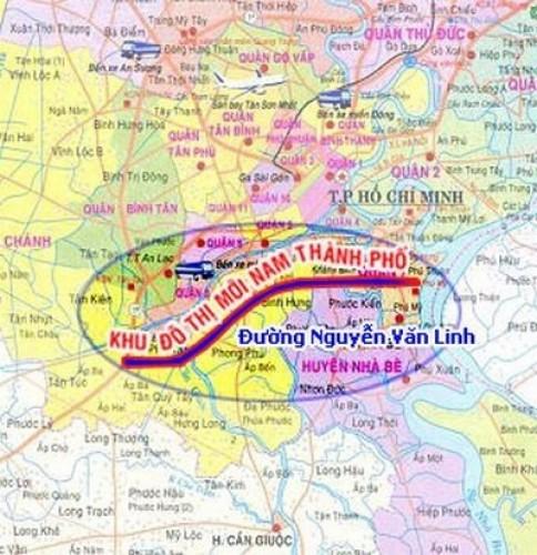TP.HCM cho phép tiếp tục bồi thường GPMB tại Khu đô thị mới Nam thành phố
