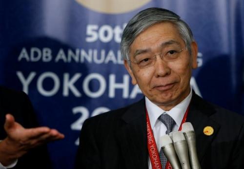 Thống đốc Kuroda: NHTW Nhật phải đối mặt với 'thách thức' lạm phát thấp