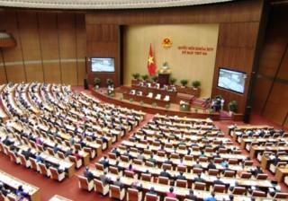 Quốc hội thảo luận về Luật Quản lý ngoại thương và tình hình KT-XH