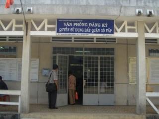 TP.HCM: Thành lập Văn phòng đăng ký đất đai