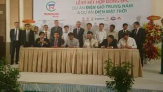 Trung Nam ký kết hợp đồng EPC cho dự án điện tại tỉnh Ninh Thuận