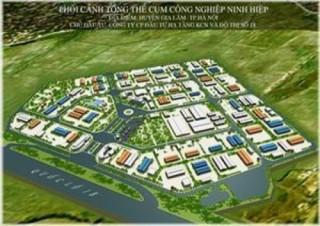 Hà Nội thành lập thêm 2 cụm công nghiệp