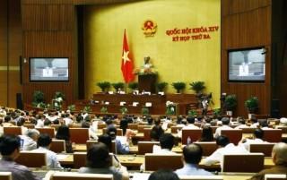 Hôm nay Quốc hội biểu quyết thông qua 5 luật và 1 Nghị quyết