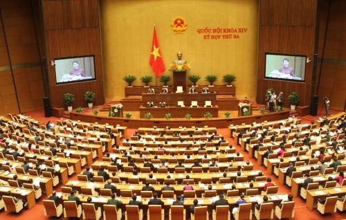 Sáng nay (21/6), Quốc hội biểu quyết thông qua Nghị quyết về xử lý nợ xấu