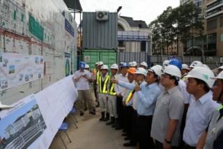 Phó Thủ tướng đôn đốc tiến độ đường sắt đô thị TP. Hồ Chí Minh