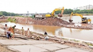Hoàn thành dứt điểm GPMB dự án thoát nước Hà Nội giai đoạn 2 trước 30/8