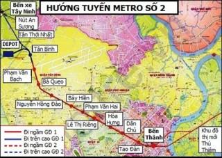 Nỗ lực hoàn thành đúng tiến độ các tuyến đường sắt đô thị TP.HCM