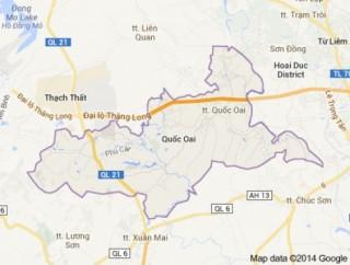 Phê duyệt Chỉ giới đường đỏ tuyến đường trục chính Bắc - Nam đô thị Quốc Oai