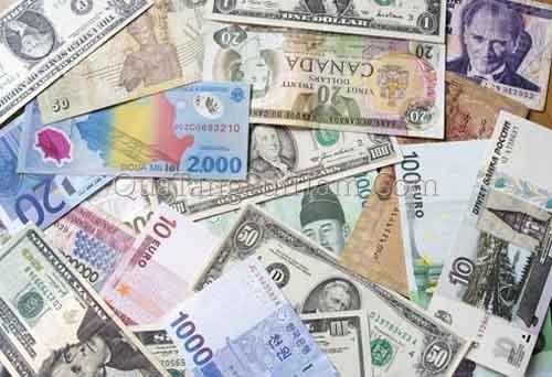 Tỷ giá các cặp đồng tiền chủ chốt ngày 5/8/2017
