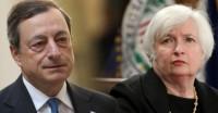 Yellen, Draghi đến với Jackson Hole với nỗi lo lạm phát yếu
