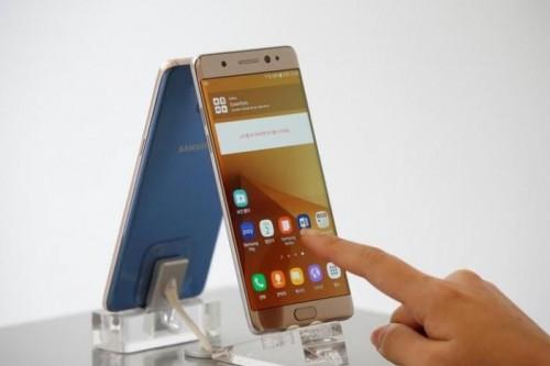 Samsung triệu hồi Galaxy Note 7 sau vụ cháy pin