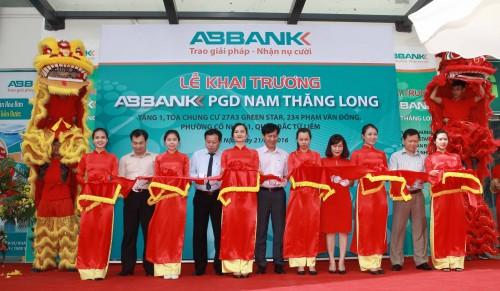 ABBANK liên tục mở rộng vùng phủ sóng tại Thủ đô