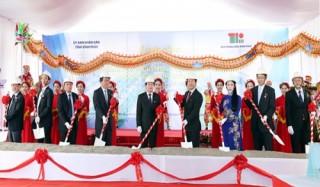 Vĩnh phúc khởi công xây khu công nghiệp thứ 10