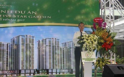Tập đoàn GFS khánh thành tổ hợp chung cư chất lượng cao Five Star Garden