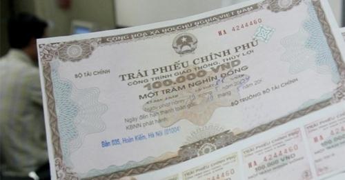 Huy động thành công thêm 2.100 tỷ đồng trái phiếu Chính phủ