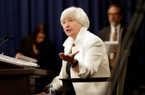 Chủ tịch Fed Yellen tin điều kiện vẫn cho phép tiếp tục tăng lãi suất