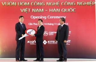 Khánh thành dự án ươm tạo công nghệ cao Việt Nam-Hàn Quốc