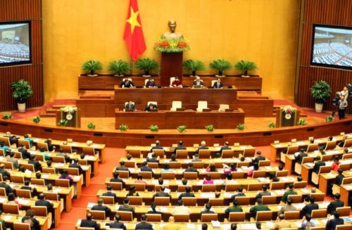 Quốc hội thảo luận ở tổ về dự án Luật Phòng, chống tham nhũng (sửa đổi)