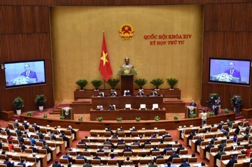 Hôm nay, Quốc hội biểu quyết thông qua Luật sửa đổi, bổ sung Luật Các TCTD