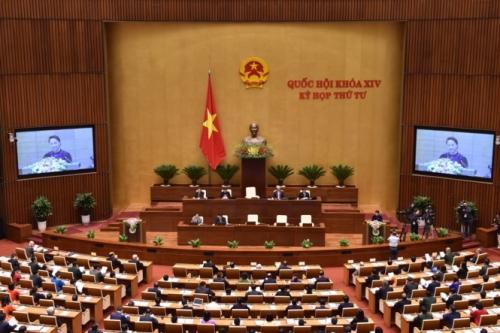 Hôm nay Quốc hội biểu quyết thông qua Luật quản lý nợ công (sửa đổi)