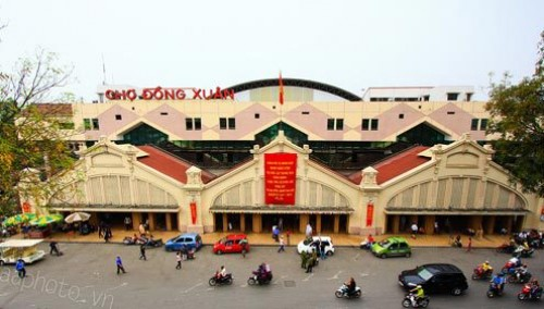Nâng mức thu phí chợ Đồng Xuân lên tối đa là 750 nghìn đồng/m2/tháng