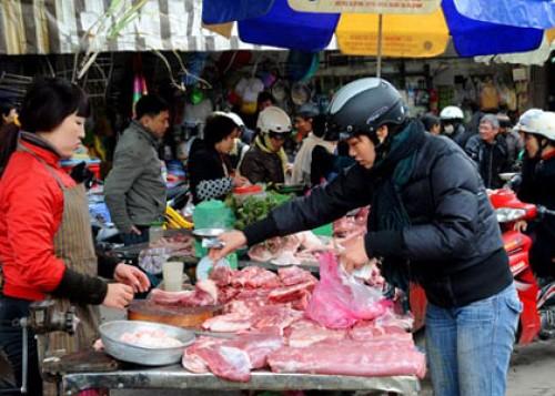 Giá một số mặt hàng thực phẩm tươi sống có xu hướng tăng
