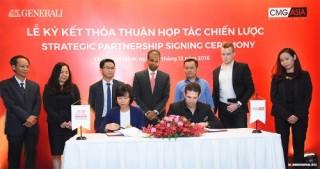 Generali Việt Nam và CMG.ASIA hợp tác chăm sóc sức khỏe tài chính toàn diện