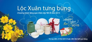 Đến Viet Capital Bank để nhận Lộc xuân tưng bừng