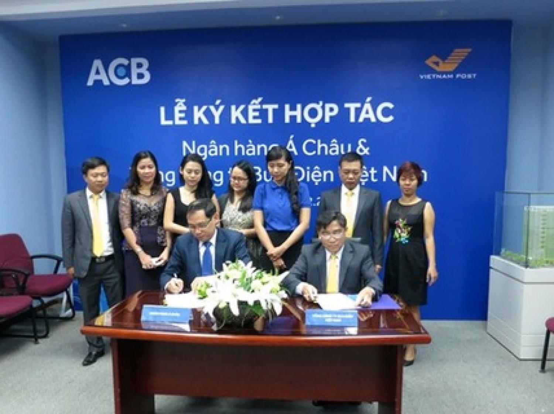 ACB cung cấp dịch vụ ngân hàng qua bưu điện