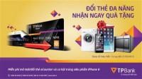 Miễn phí mở/đổi thẻ eCounter, có cơ hội trúng iPhone 6 tại TPBank