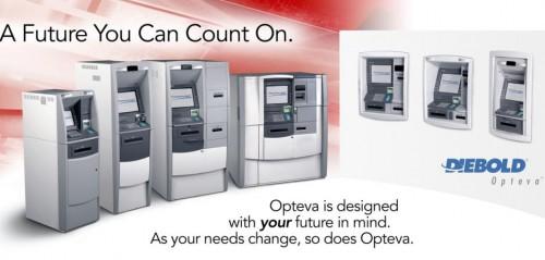 DIEBOLD OPTEVA - đỉnh cao công nghệ bảo mật cho ATM