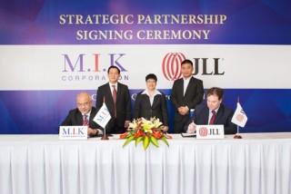 M.I.K Corporation - JLL hợp tác chiến lược cùng phát triển
