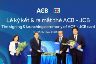 Nhiều ưu đãi khi phát hành thẻ ACB-JCB