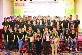 Giải Cờ vua Quốc tế HDBank: Nơi tài năng tỏa sáng