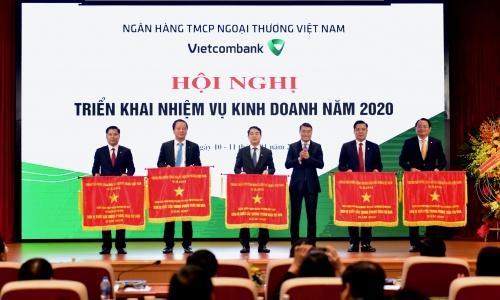 vietcombank dat ket qua kinh doanh tot trong nam 2019