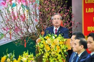 Thường trực Ban Bí thư Trần Quốc Vượng: Vietcombank cần phát huy tinh thần đoàn kết, năng động sáng tạo